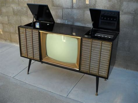 vintage tv stereo cabinet what a jawdropper 1960s delmonico jvc tv record player am