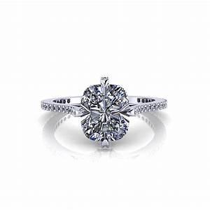 cushion diamond engagement ring jewelry designs With diamond wedding ring designs
