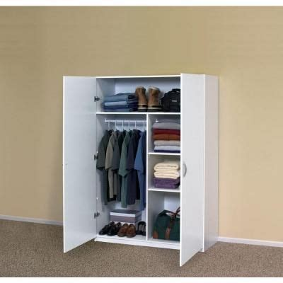 wardrobe closet white wardrobe closet home depot