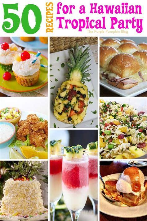luau party foods ideas  pinterest luau snacks