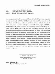Carta a MRW