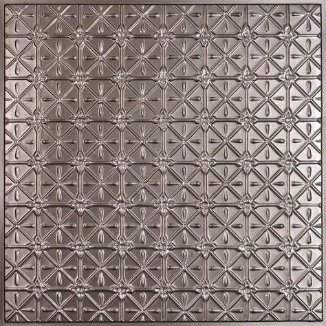 ceilume continental faux tin ceiling tile 2 x 2