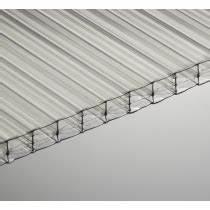 Plaque Polycarbonate Alvéolaire 4mm : plaque polycarbonate transparente pour veranda et toiture ~ Dailycaller-alerts.com Idées de Décoration
