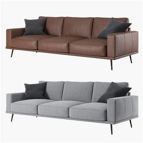 Bo Concept Sofa by Boconcept Carlton Sofa 3d Model