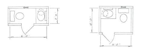 Powder Room Layout Minimum Small Bathroom Floor Plans