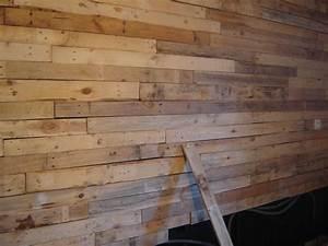 Mur Interieur En Bois De Coffrage : mur en planche de coffrage gallery of image de panneau de ~ Premium-room.com Idées de Décoration