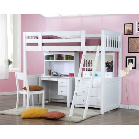bunk beds with desk my design bunk bed k single w desk w hutch dressing table
