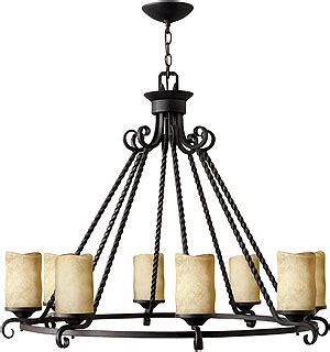 casa  light candle chandelier  olde black house  antique hardware