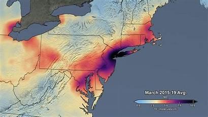 Pollution Air Coronavirus Nasa Satellite Space Drop