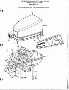 Outboard Motor  Eng Cver  Suppt Plate Page 2 Diagram  U0026 Parts List For Model 52179e Mercury