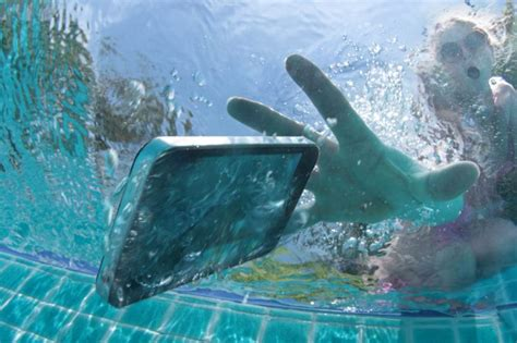 dropped phone in water there s a new way to save your phone if you drop it in