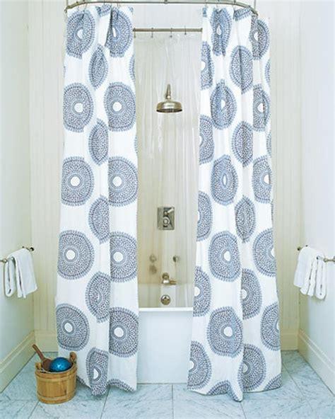 bathroom ideas with shower curtain 10 shower curtain ideas rilane