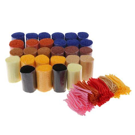 latch hook rug making kits  kidsadults hand embroidery