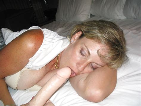 Blonde Mature Wife Shows Off In Front Of Her Husband 2on2