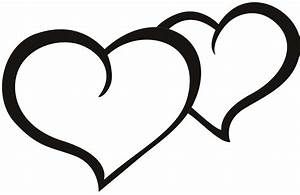 Hearts clipart heart outline - Pencil and in color hearts ...