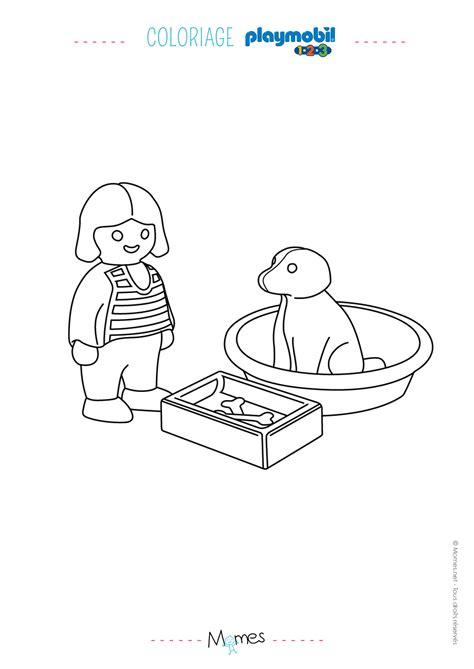 coloriage de chambre de fille coloriage de playmobil de chambre bebe