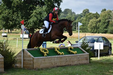 eventing training courage combined determination ability pony gives competition riding needs members round which club