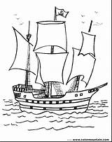 Coloring Boat Printable Ship Cruise Coloringfolder Pirate Cartoon Simple Water sketch template