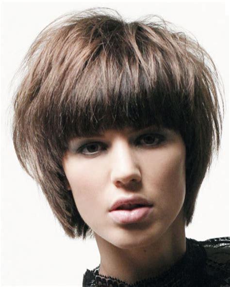 women short hairstyles  long straight bangspng