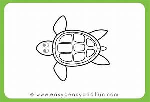 How to Draw a Turtle - Step by Step Drawing Tutorial ...