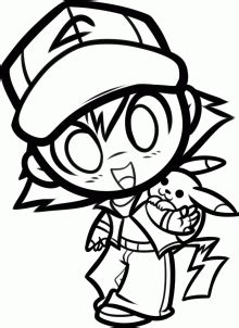 draw ash  pikachu pokemon step  step