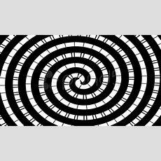 Optical Illusion  Moving Circleshypnotic Spiral Stock