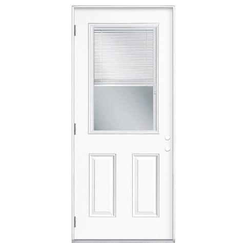 exterior door with blinds between glass in glass blinds exterior door shop reliabilt blinds