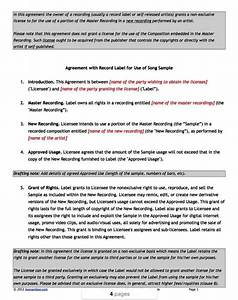 Record label contracts templates sampletemplatess for Record label contracts templates
