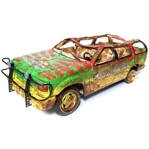jurassic park car toy jurassic park maisto ford explorer tour car electric 04