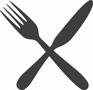 Fork clipart crossed - Pencil and in color fork clipart ...