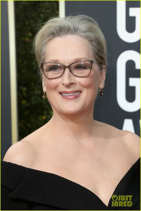Meryl Streep In Vera Wang  2018 Golden Globe Awards