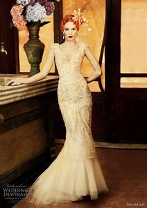 yolancris 2011 revival vintage wedding dress collection With art deco wedding dresses