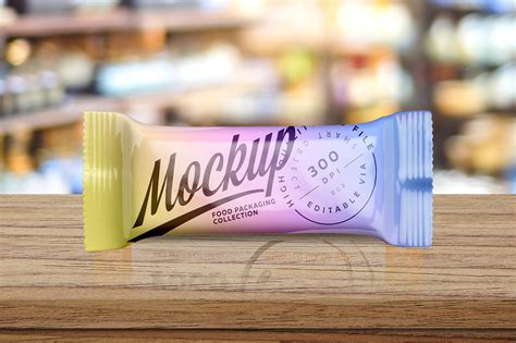 Free snack pack pouch packaging mockup psd. Snack Bar Packaging PSD Mockup Download for Free | DesignHooks