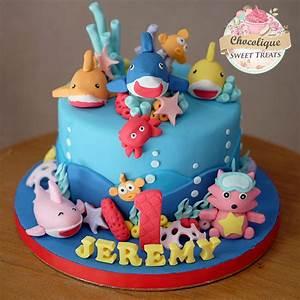 Baby Shark Cake for Jeremy – Chocolique