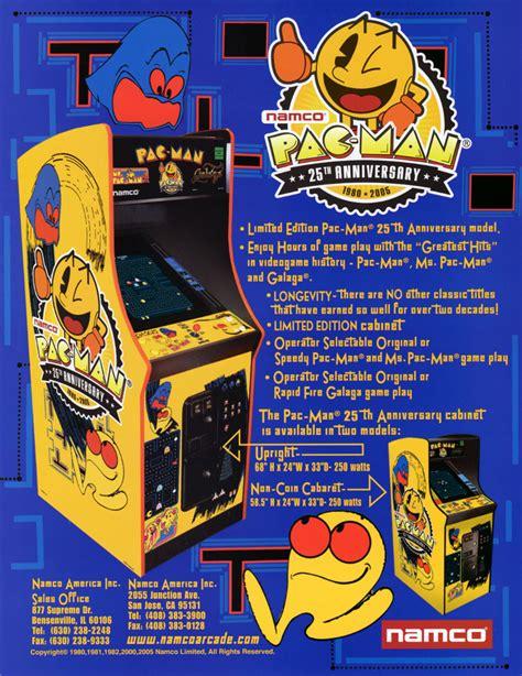 Emulator Cabinet by Pac Man 25th Anniversary Edition Rev 2 00 Rom