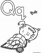 Quilt Coloring Alphabet Printable Block Pattern Getcolorings Clipartmag sketch template