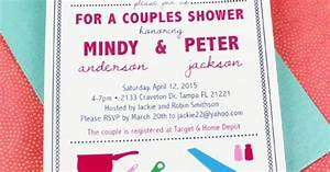 his and hers shower invitation template couple couples With his and hers wedding invitation templates