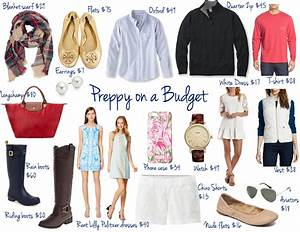 Preppy On a Budget Where to Shop & What Pieces to Buy