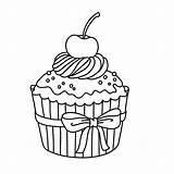Cupcakes Coloring Kleurplaten Cupcake Kleurplaat Dibujos Colorear Adult Drawing Leukvoorkids Tekening Colouring Easy Ice Cake Voor Bekijk Minderhout Sheets Leuk sketch template