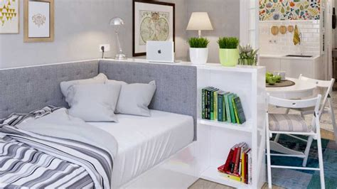 5 Contrasting Small Apartment Designs by Interior Design Small Studio Apartment 42 Ideas Part 2