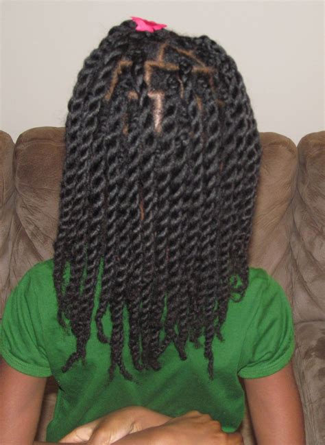 Rope Twist Hairstyles by Hair Twists Rope Twists On Hair Without Hair