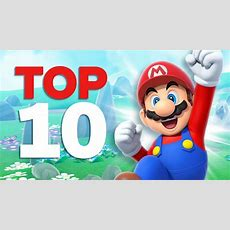 Top 10 Best Mario Games Youtube