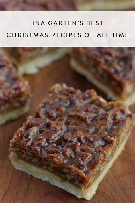 These dainty delights melt in your mouth and play the perfect counterpoint to fudge and other richer treats in a christmas cookie tin. Ina Garten's 19 Best Christmas Recipes of All Time ...