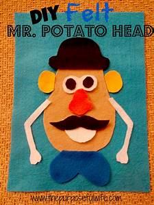 the purposeful wife felt mr potato head With mr potato head felt template