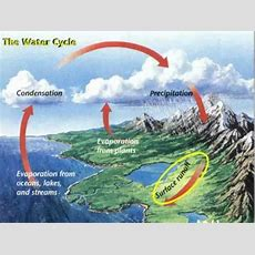 Water Cycle, The Never Ending Water Cycle Youtube