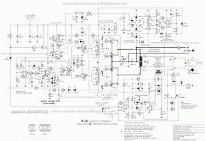 Simple 3000 Watts Ups Circuit Diagram