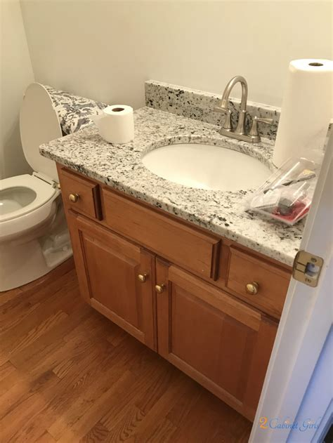 kitchen island  bathroom vanity painted gray matters