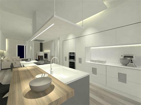 cuisine bois plan de travail blanc cuisine en bois couleur maison moderne
