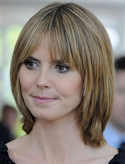 haircuts with layers and side bangs layered bob haircuts with side bangs medium haircut