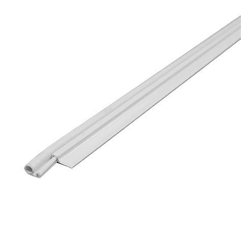 cinch door seal m d building products 42 in white cinch door seal top and